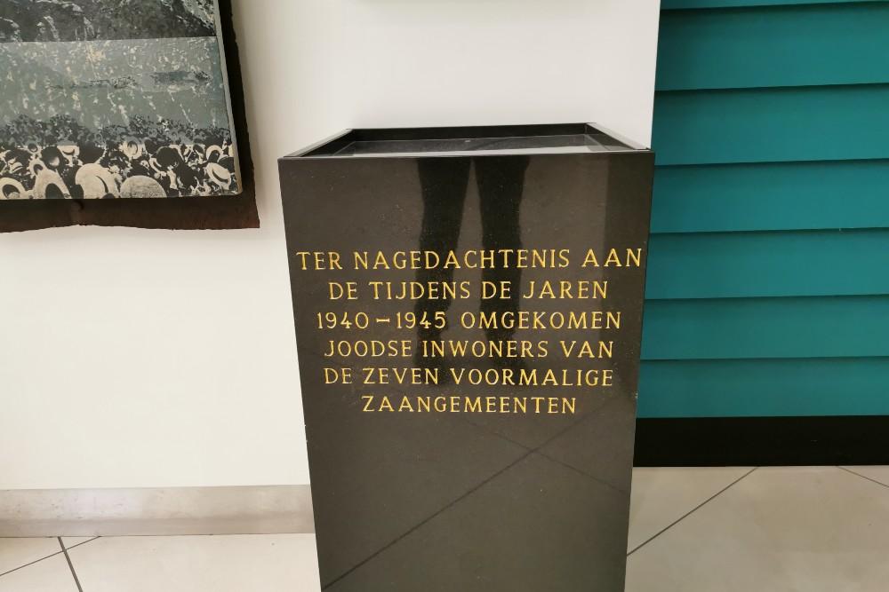 Joods Monument Stadhuis Zaandam