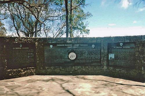 Camp Tarawa Memorial