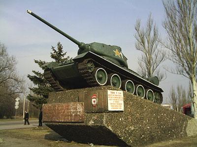 Bevrijdingsmonument (T-34/85 Tank) Luhansk
