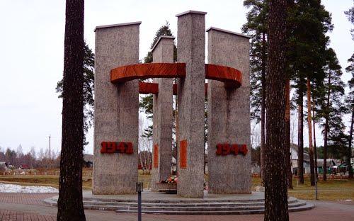 Monument Concentratiekamp Baravucha
