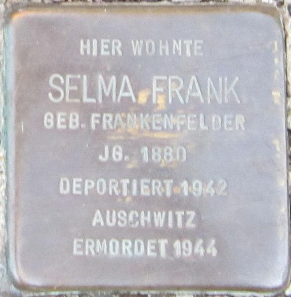 Stolpersteine Goethestraße 11