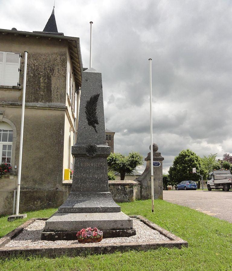 World War I Memorial Leintrey