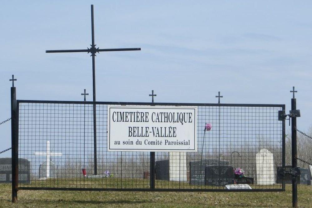 Canadees Oorlogsgraf Belle Vallée Cemetery
