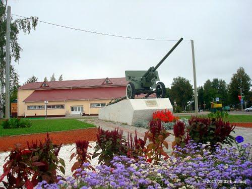Liberation Memorial (ZIS-2 57mm Gun) Rasony