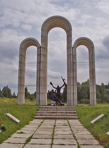 Sovjet Oorlogsbegraafplaats Barsuki