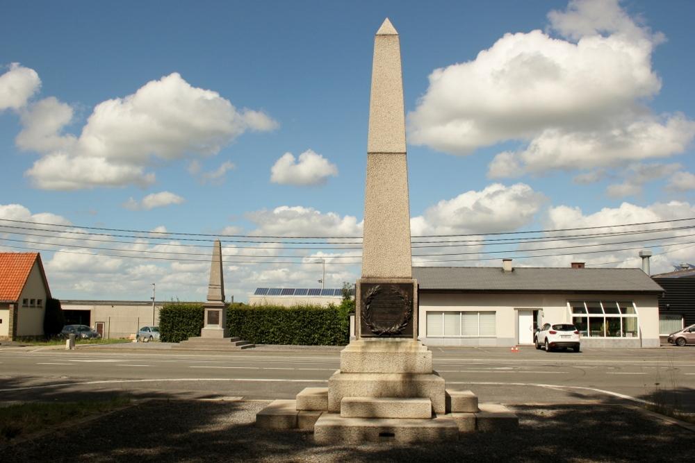 Monument Britse 18e Divisie Geluveld