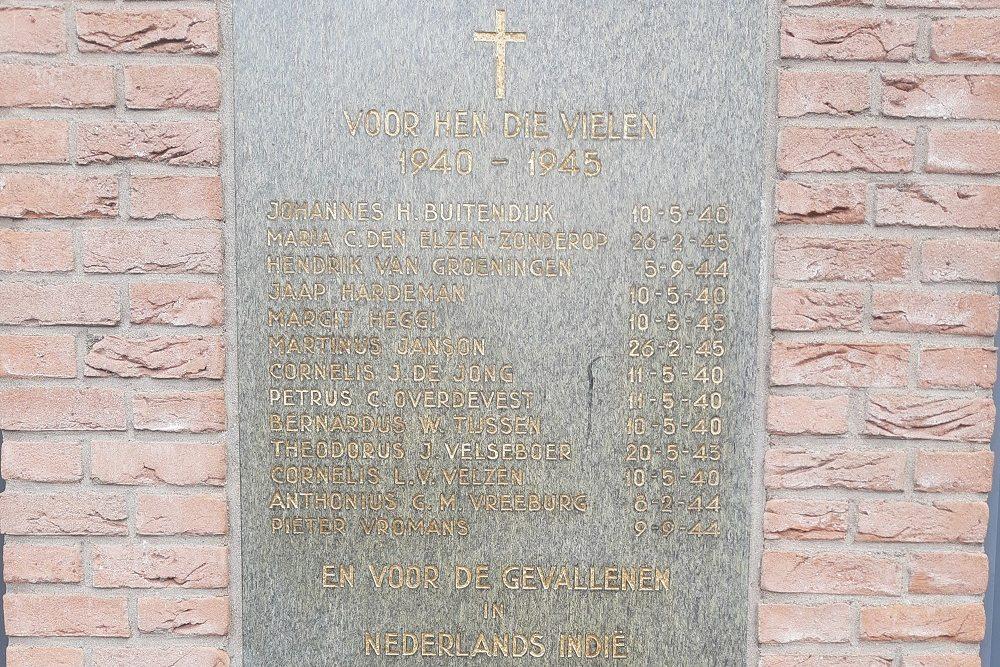 War Memorial Zoeterwoude