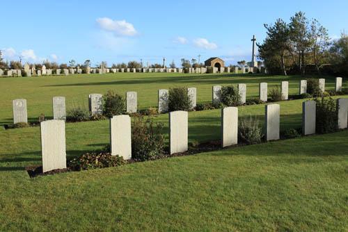 Duitse Oorlogsgraven Lyness Royal Navy Cemetery