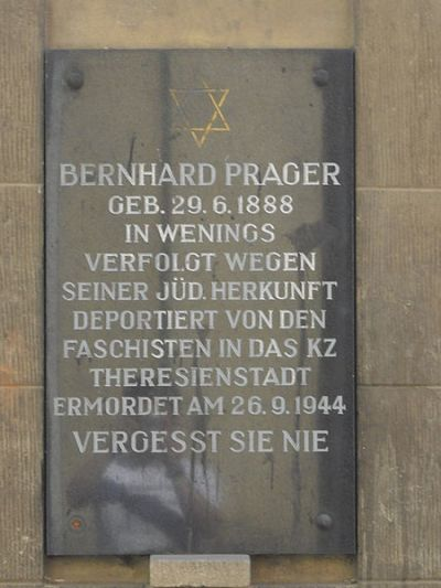 Plaquette Bernhard Prager