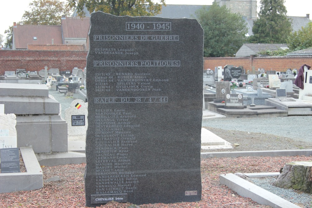 Memorial 1940-1945 Cemetery Ellezelles