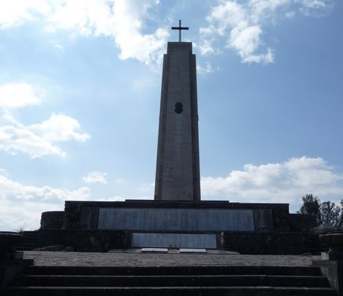 Memorial 3rd Carpathian Infantry Division Hill 593