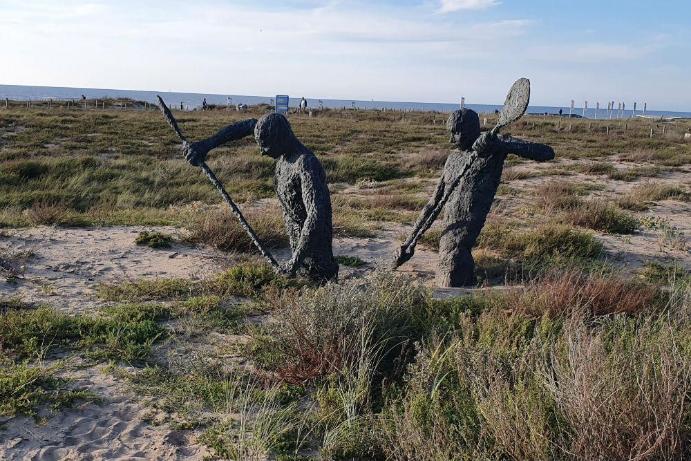 Memorial England Sailors Katwijk aan Zee