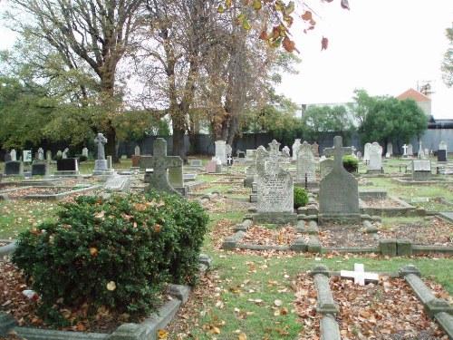 Oorlogsgraven van het Gemenebest Woolston Cemetery