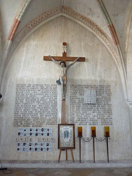 Oorlogsmonument Baumgartenberg