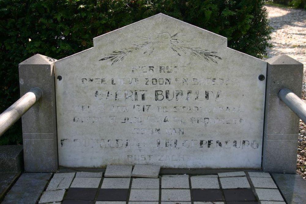 Dutch War Graves Kerkhofwijk Communal Cemetery