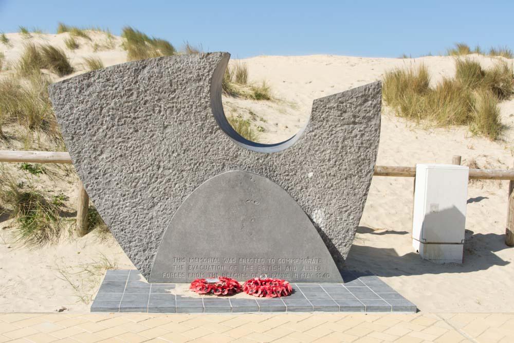 Monument Operatie Dynamo De Panne