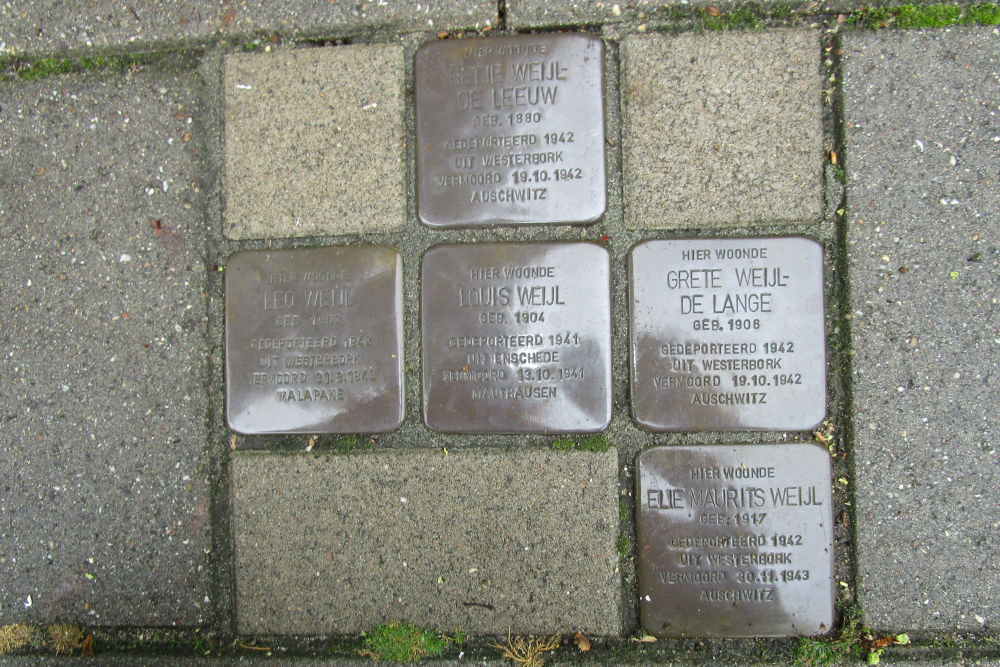 Stumbling Stones Bentheimerstraat 18