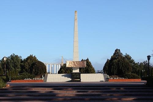 Massagraf Sovjet Soldaten Illichivsk