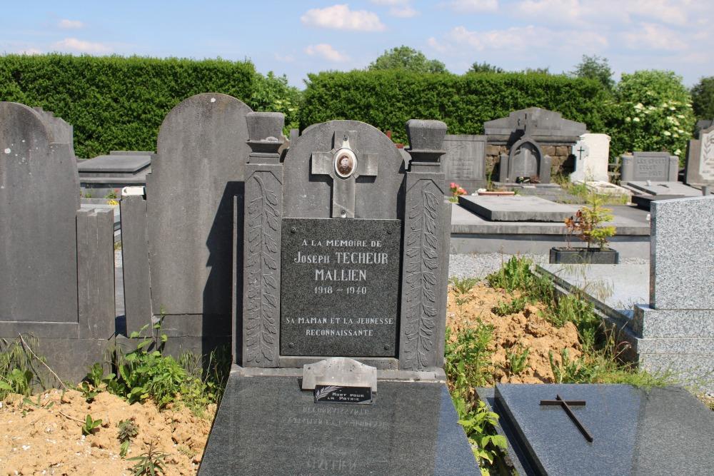 Belgian War Grave Waret-l'Évêque