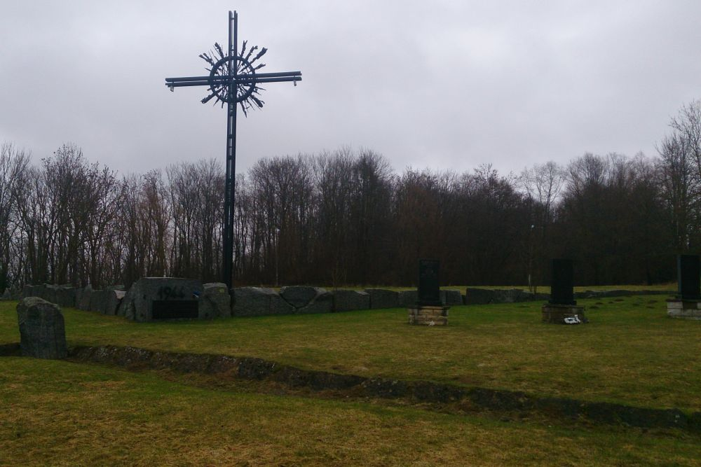 German Memorial Complex Battle of Tannenberg Line