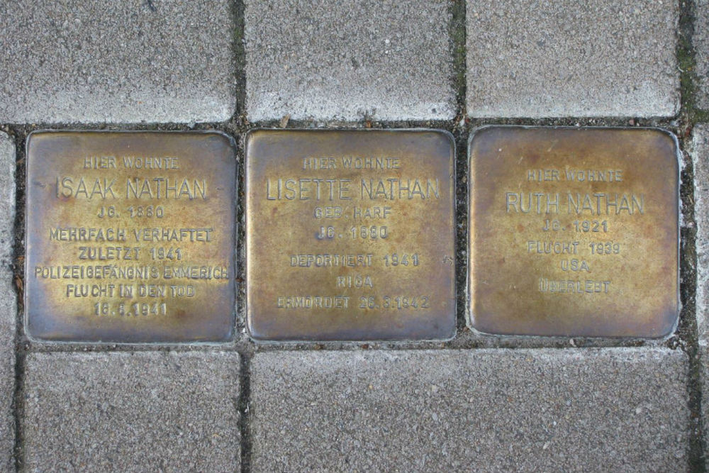 Stumbling Stones Baustraße 48