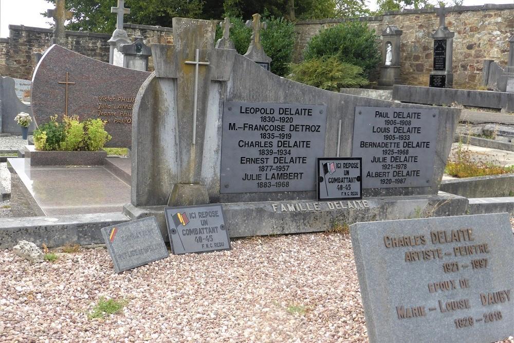 Graven Oud-strijders Gemeentelijke Begraafplaats Redu