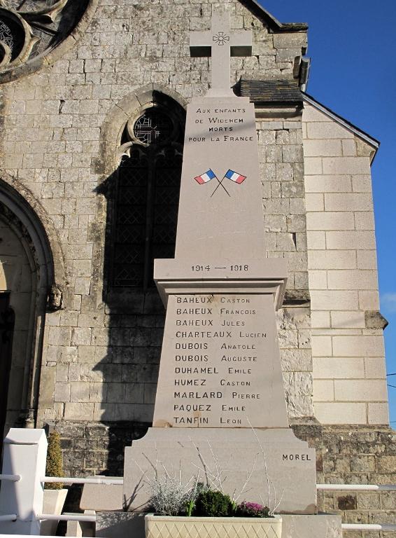 World War I Memorial Widehem