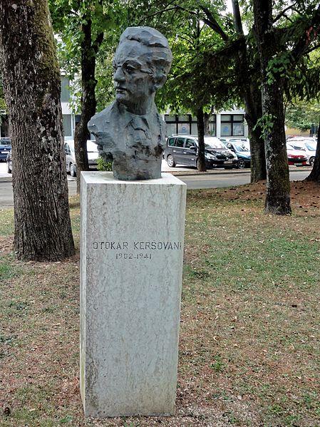 Bust Otokar Kersovani