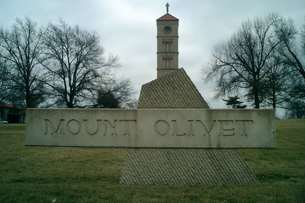 American War Grave Mount Olivet Cemetery