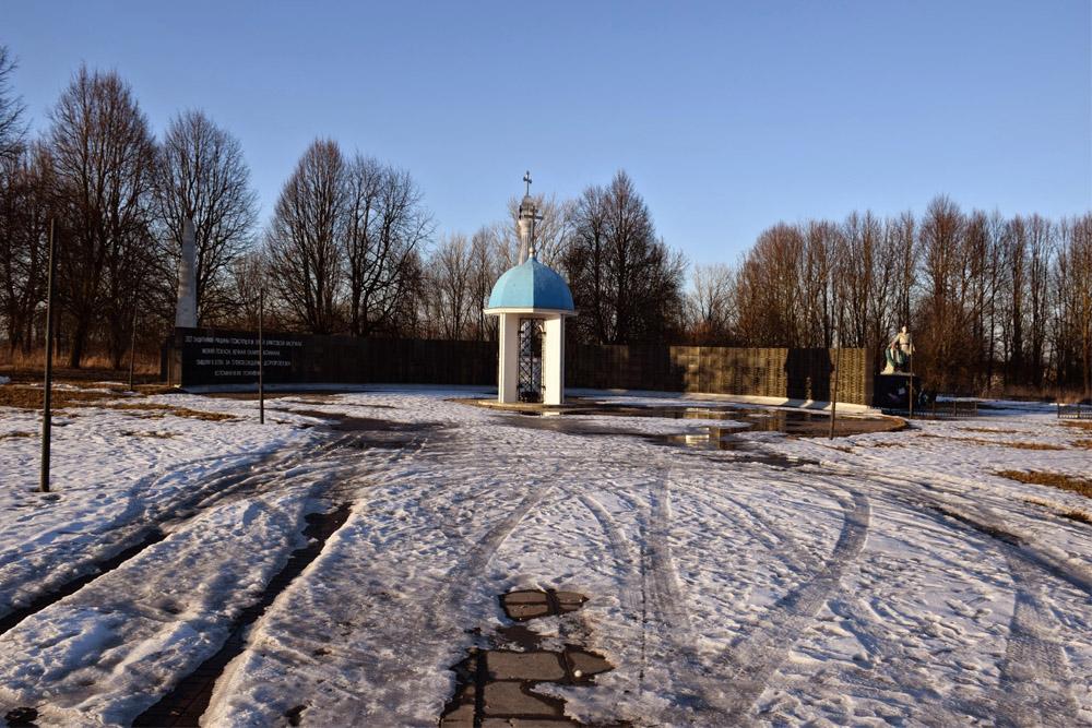 Mass Grave Soviet Soldiers & Partisans