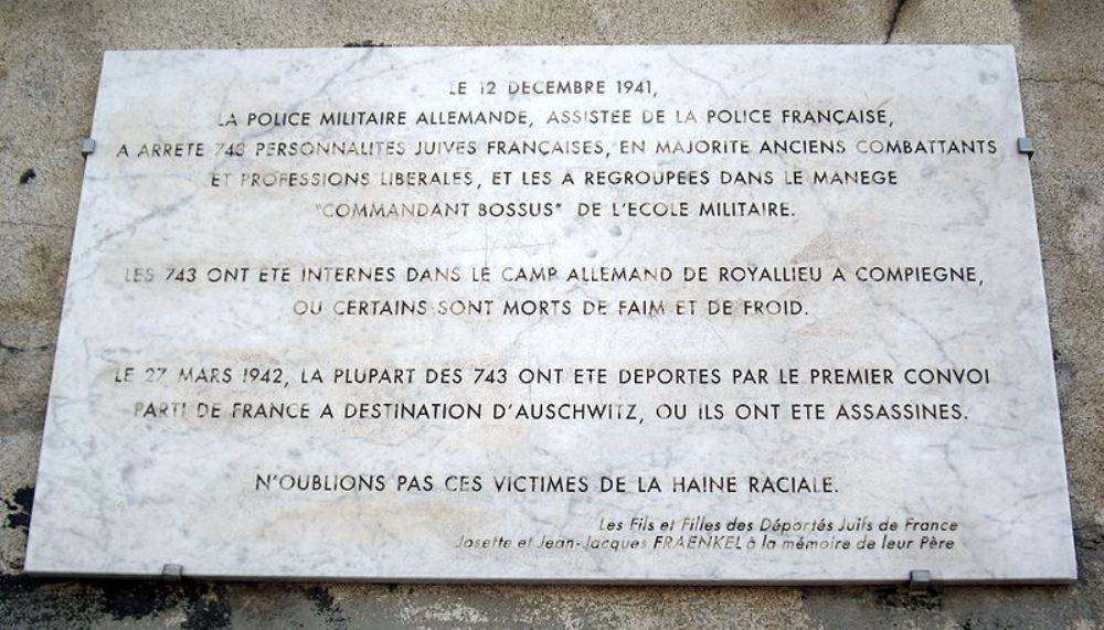 Plaque Raid 12 December 1941