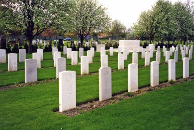 Commonwealth War Graves Preston Cemetery