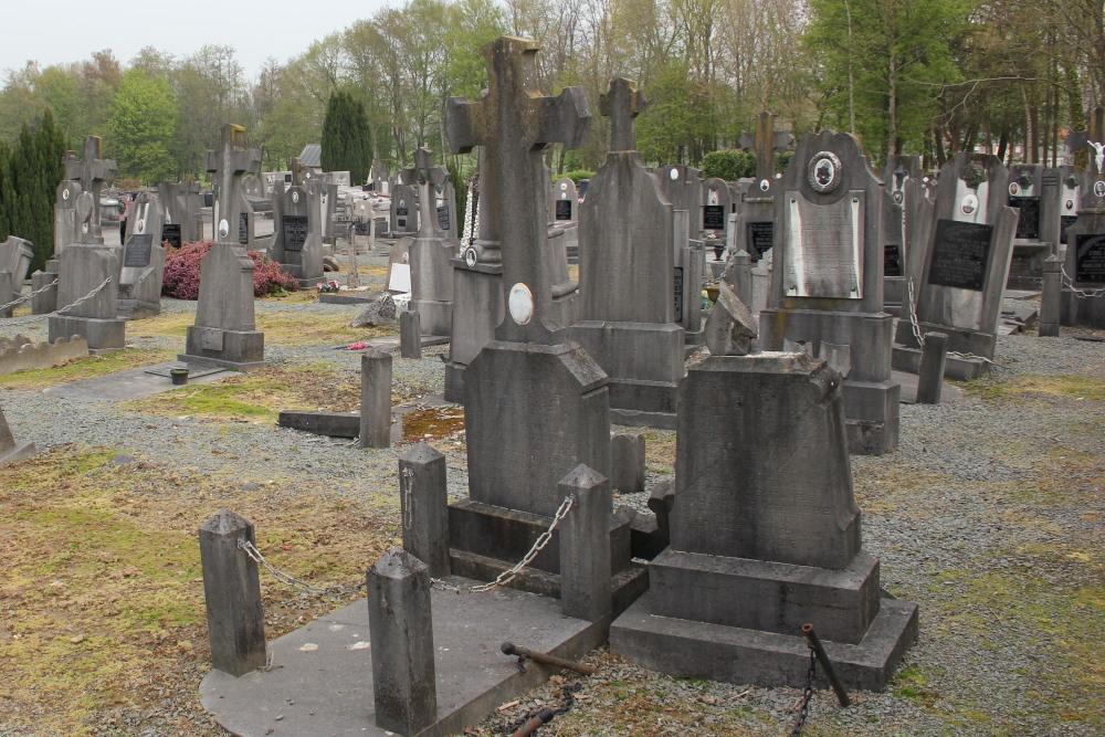 Belgische Oorlogsgraven Geraardsbergen