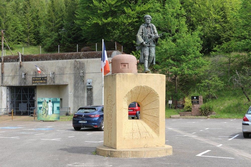 Monument Verdedigers Maginot-linie