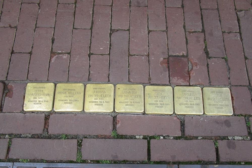 Stumbling Stones Achter het Stadhuis 10