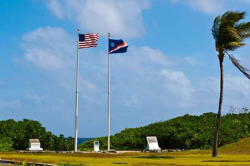 Amerikaans Oorlogsmonument Kwajalein