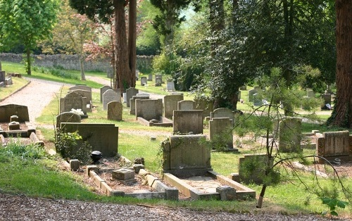 Commonwealth War Grave Stratton Cemetery