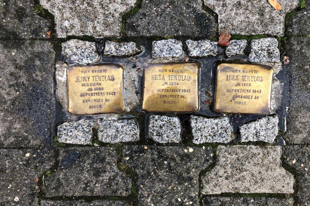 Stumbling Stones Mittelweg 3
