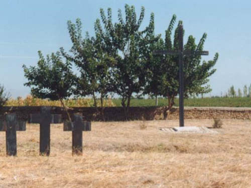 German War Cemetery Jangi-Tschajet