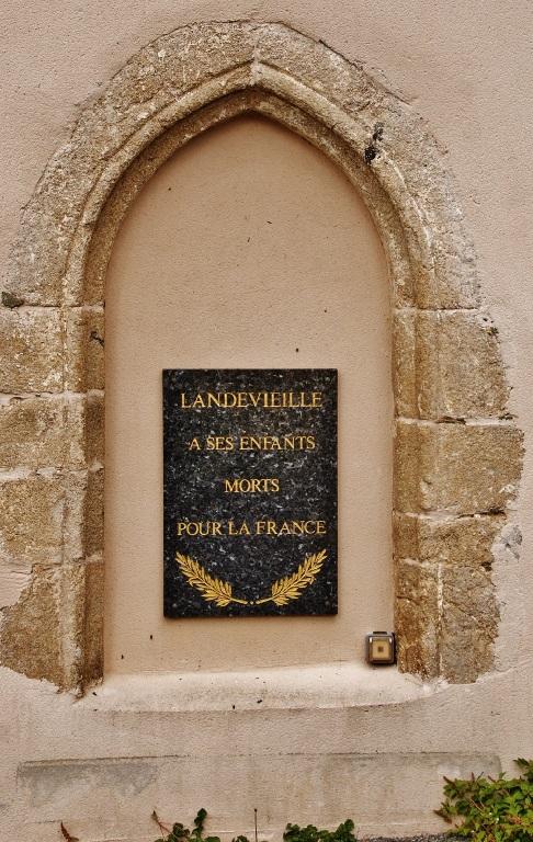 War Memorial Landevieille