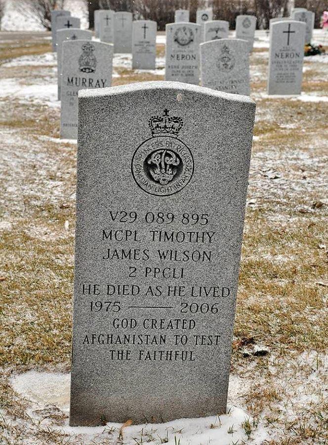 Canadees Oorlogsgraf Brandon Municipal Cemetery