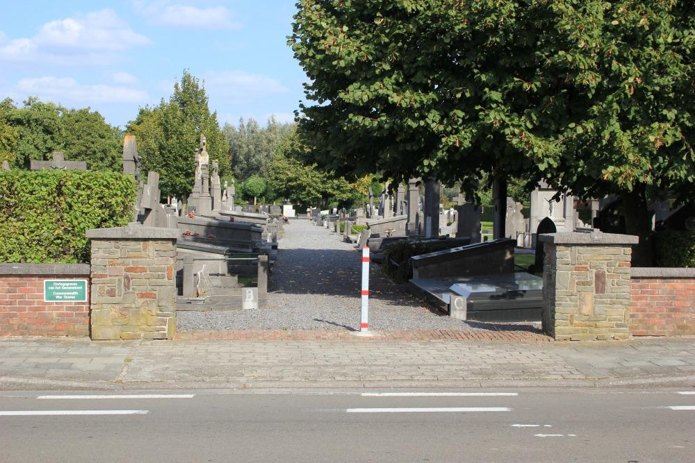 Oorlogsgraven van het Gemenebest Bissegem