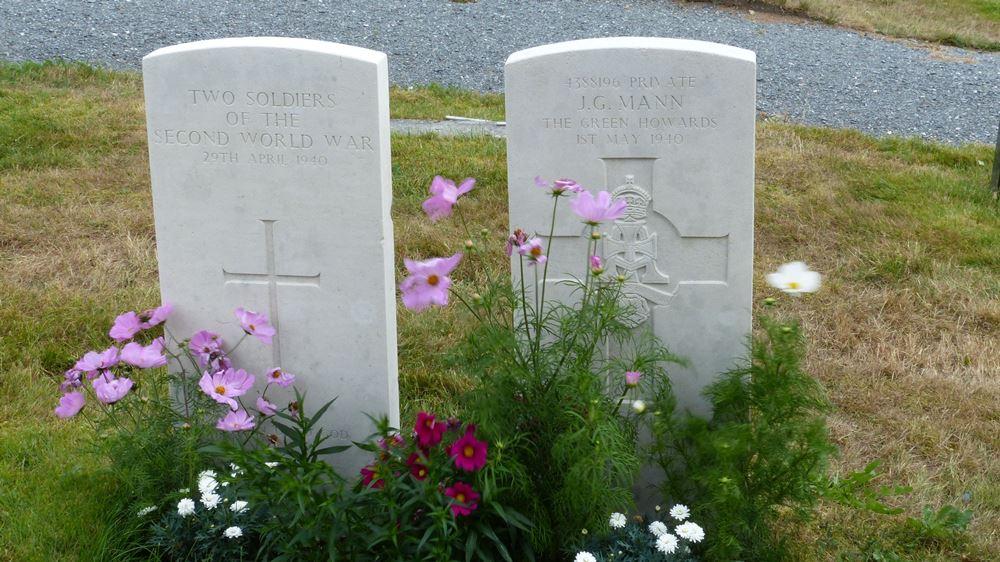 Commonwealth War Graves Hen Churchyard