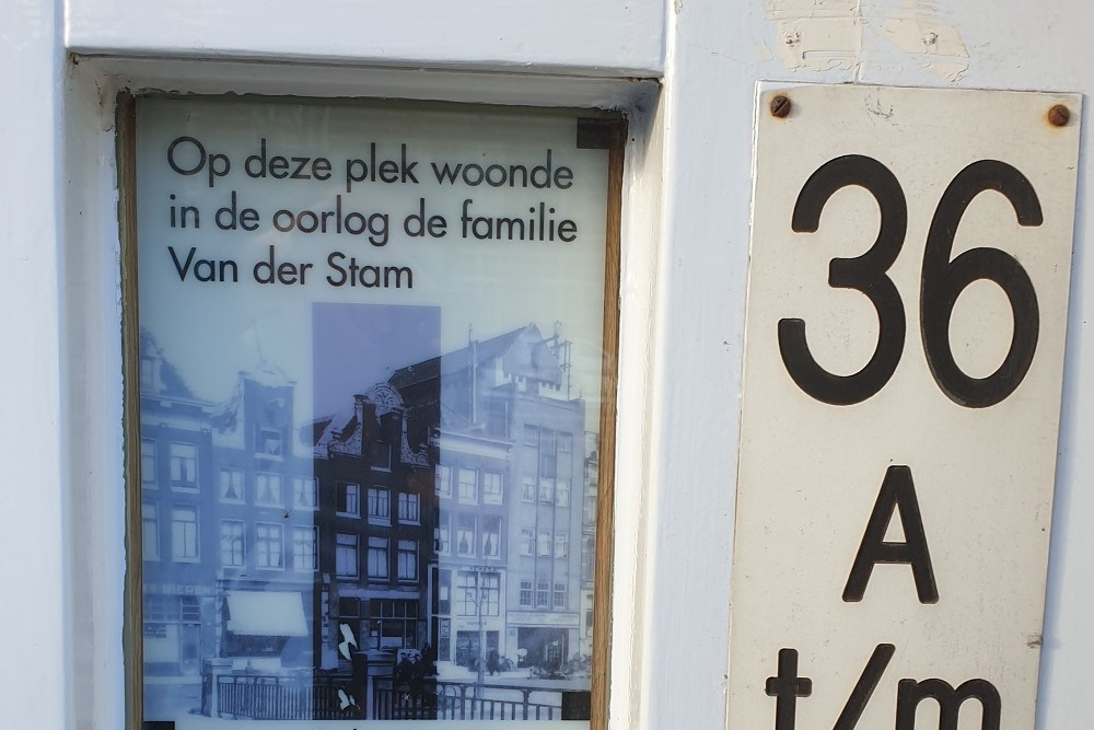 Voormalig Woonhuis Familie Van Der Stam, Amsterdam