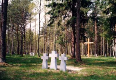 Duitse Oorlogsbegraafplaats St. Brigitten / Tallinn-Pirita