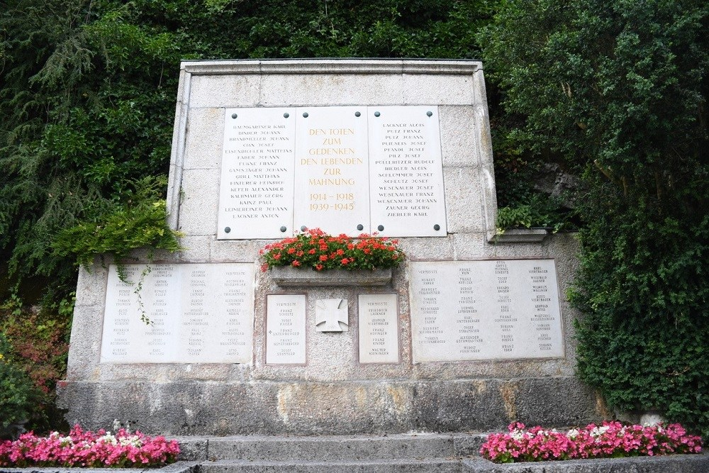 Memorial Wall Hallstatt