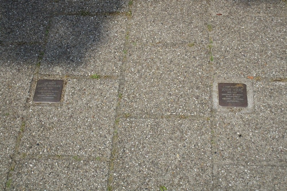 Remembrance Stones Prinsestraat 18