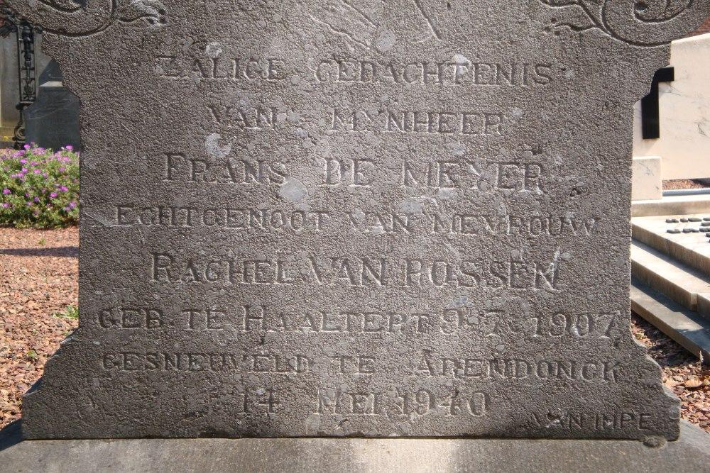 Belgian War Grave Welle