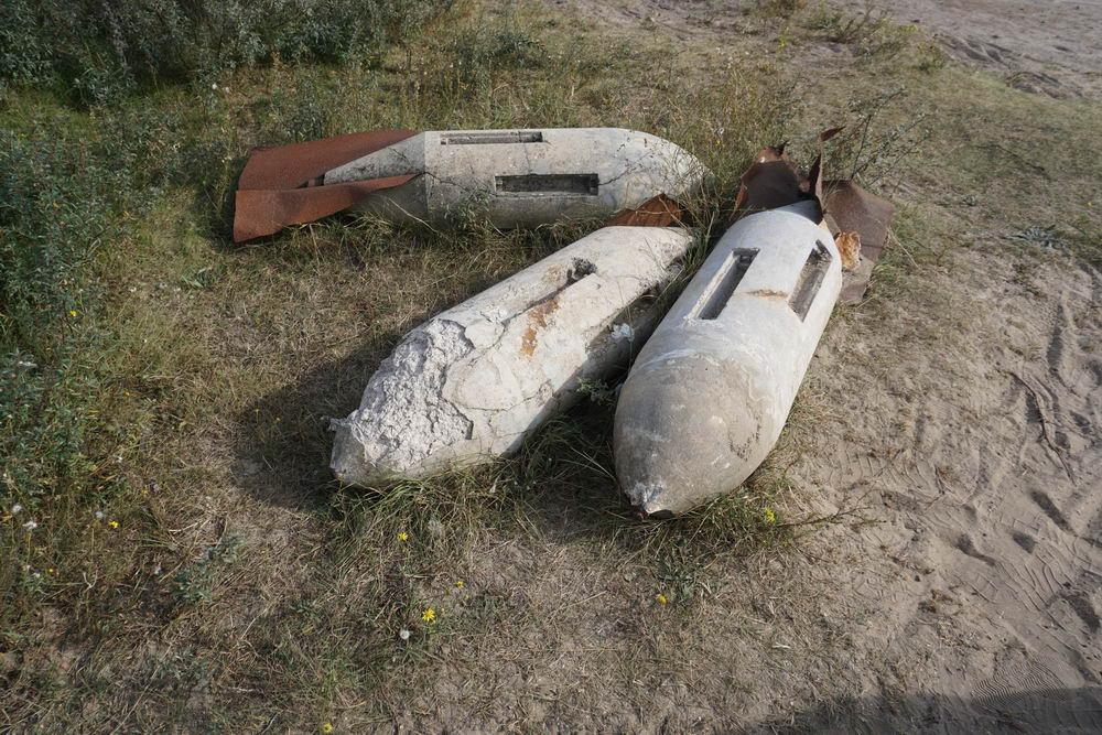 German Practice Bombs National Park Kennemerland