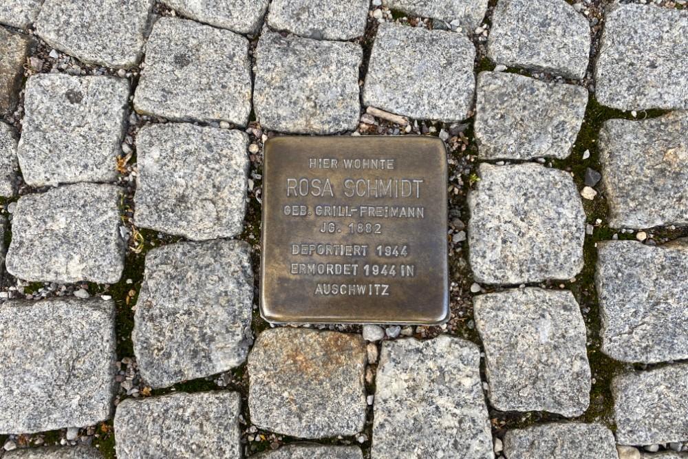 Stumbling Stone Brennerstraße 42